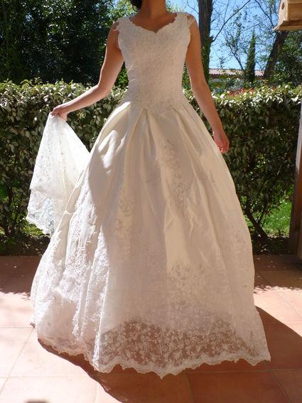robe de princesse florale garonne haute