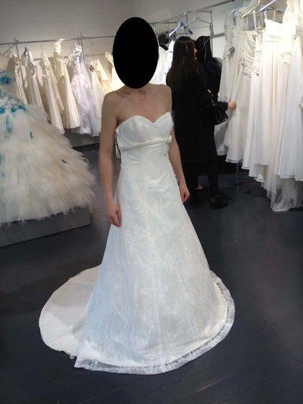 Robe de mariée Bella modèle Papyrus neuve T40  - Occasion du Mariage
