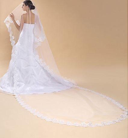 Voile blanc mariée jamais porté - Paris