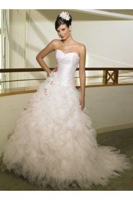 Robe de mariée pas cher organza collection 2011 en Bretagne 2012 - Occasion du mariage