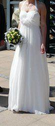 Robe de mariée Divina Sposa style empire T36-38 - Occasion du Mariage