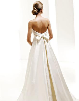 Robe de mariée PRONOVIAS modèle Onil du créateur Manuel Mota