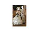Superbe robe de mariée Ivoire et Chocolat d'occasion