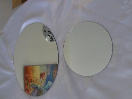 ensemble de vase, flotteur, miroir, photophore - Indre