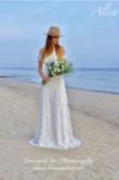 Lilou robe de mariée boheme Alisa neuve en dentelle  - Occasion du Mariage