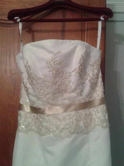 Robe de mariée bustier neuve Lise Saint Germain modèle Isora