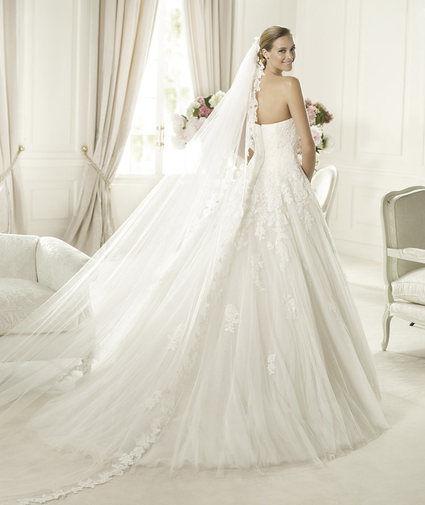 Robe de mariée Pronovias modèle Alcanar Collection Glamour 2013