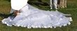 Robe de Mariée Blanc éclatant d'occasion taille 38