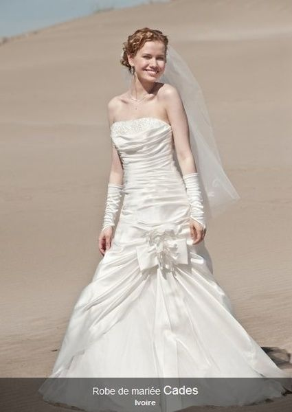 Robe de mariée modèle Cades de chez Point Mariage Limoges en occasion