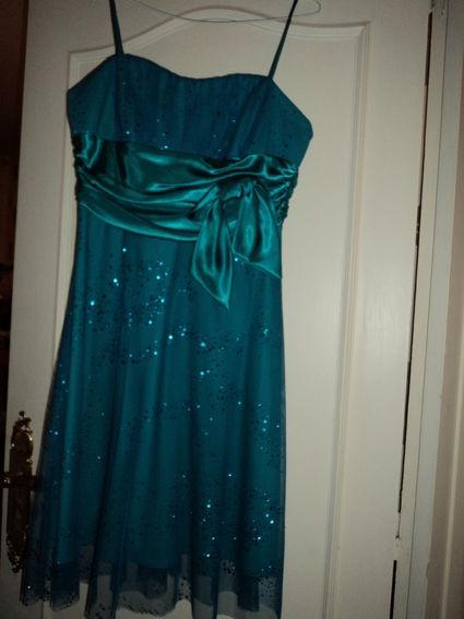 Belle robe de cérémonie de mariage pas cher à Caen 2012 - Occasion du mariage