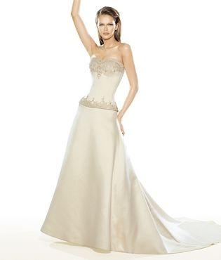 Robe de mariée pas cher neuve de LA SPOSA. Modèle Selim - Occasion du mariage