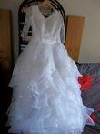 Jolie robe de mariée romantique - Occasion du Mariage