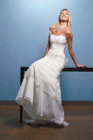 Robe de mariée Chérie Pronuptia forme sirène jamais portée