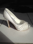 Chaussures Mariage taille 40 Satin blanc - Occasion du Mariage