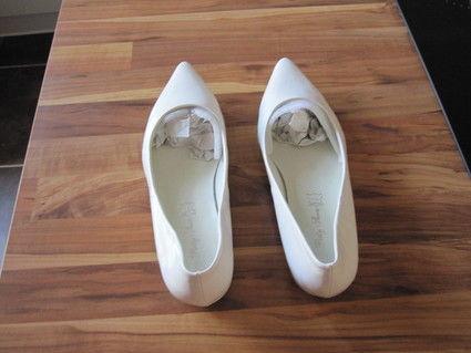 Ballerine blanche neuve - Occasion du Mariage