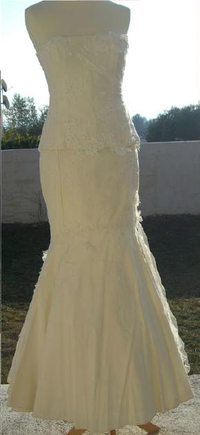Robe de mariée discount Cymbeline, Duffy à Montpellier 2012 - Occasion du Mariage