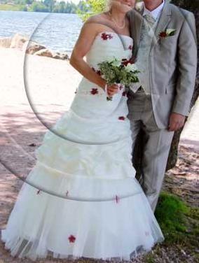 Robe de mariage modèle Délice, Crinoline Bali