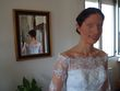 Belle robe, col  - Occasion du Mariage