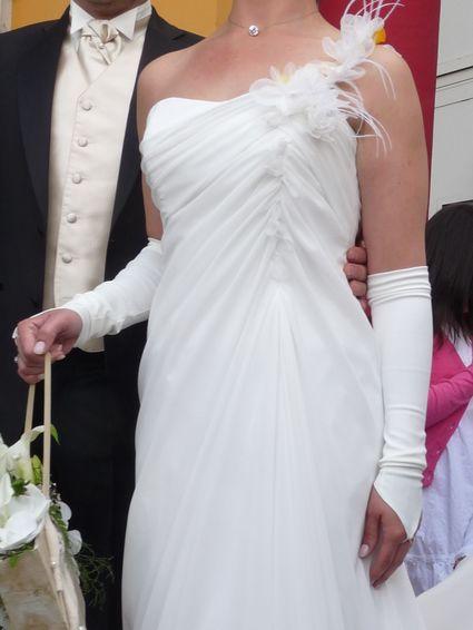 Robe pronuptia mariage légère allure d'occasion - Finistère