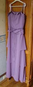 Robe de cérémonie violette taille 44 - Occasion du Mariage