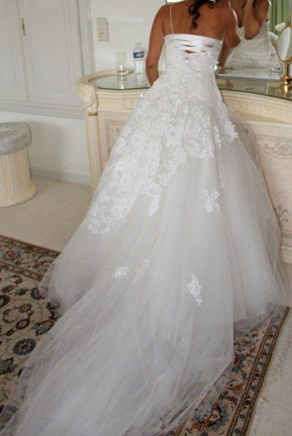 Manteau de mariée en dentelle Cymbeline 2012 - Occasion du Mariage