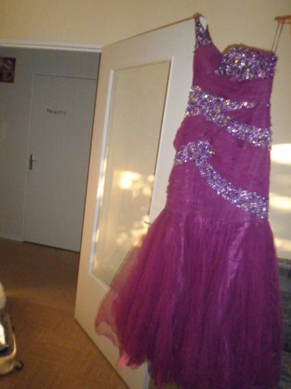 Très belle robe de soirée T42-44 d'occasion