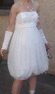 Robe de mariée courte taille 36 - Occasion du Mariage