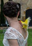 Robe de Mariée bohème empire dentelle chic - Occasion du Mariage