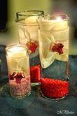 Vases deco de table - Occasion du Mariage