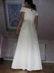 Superbe robe de soirée/mariée jaune pastel d'occasion en 2013