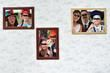 Photobooth mariage mur de cadres sur décor toile de jouy  - Drôme