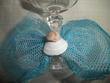 Décoration de mariage / Noeuds de verres à pied thème mer pas cher 2012 - Occasion du mariage