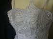 Robe de mariée princesse blanche, perlée pas cher - Occasion du mariage