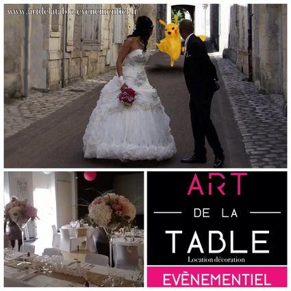Location de décoration de mariage - Charente Maritime