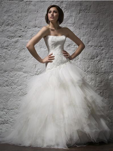 Robe de mariée pas cher Aurye Mariage - Fabuleuse 2012 - Occasion du Mariage
