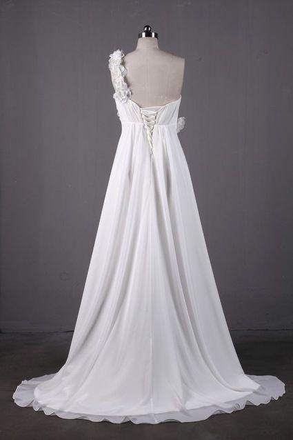 Jolie Robe de Mariée / Soirée / Mariage Blanc T36-38 pas cher - Occasion du Mariage