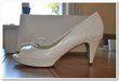 Chaussures de mariée pas cher blanc cassé neuve - Occasion du Mariage