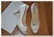 chaussures mariage femme taille 41 blanc cassé neuve - Occasion du Mariage