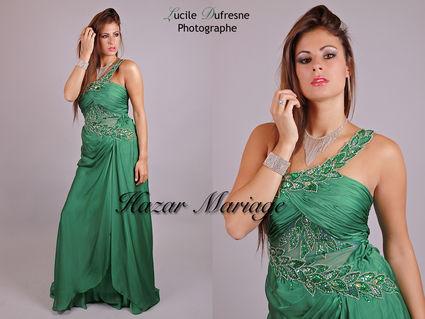 Robe de soirée d'occasion pour mariage pas cher à Paris 2012 - Occasion du mariage
