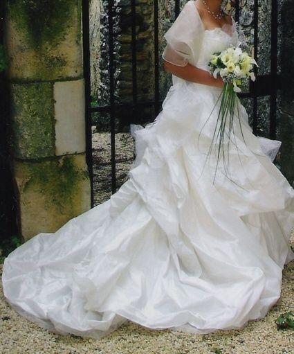 Robe de mariée haute couture Rosi Strella d'occasion