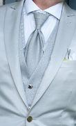 ensemble homme custume italien de marié gris + chaussures - Occasion du Mariage