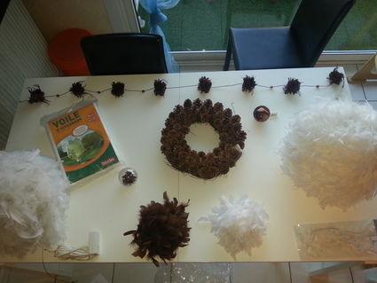 Décoration de mariage chocolat et blanc - Occasion du Mariage