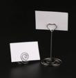 grand titulaire de carte de forme de coeur avec petit  - Occasion du Mariage