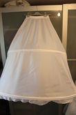 Robe de mariée Annie Couture modèle Aimer avec jupon T38 neuve