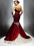 Robe mariée rouge siréne - Occasion du Mariage
