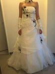 Robe de mariée Pronovias couleur ivoire taille 38 - Occasion du Mariage
