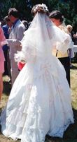robe de mariée romantique de marque  - Sarthe