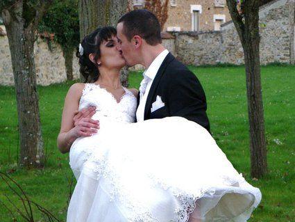 robe et accessoires pronuptia chanson d'amour model 2011 pas cher d'occasion 2012 - Ile de France - Essonne - Occasion du Mariage