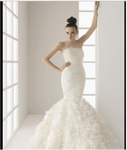 Robe de Mariée Inspiration Couture Rosa Clara pas cher - Occasion du Mariage