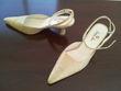 Chaussures à bride, couleur champagne - Occasion du Mariage
